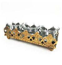 Long Metal Candle Holder