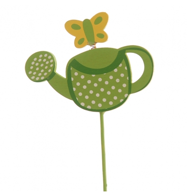 Watering can pick green
