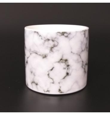 Marble look pot