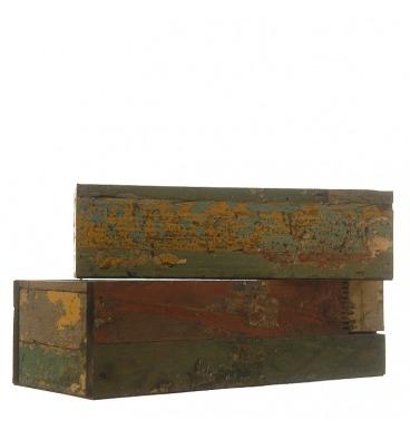 Rustic crates 2 piece