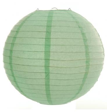 Plain green paper lantern