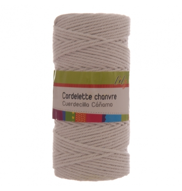 White cotton rope roll