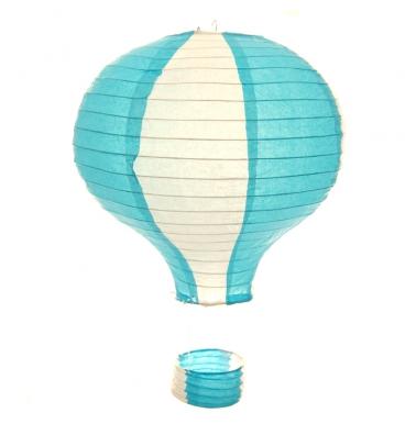 Blue airballoon lantern