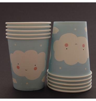 Cloud paper cups