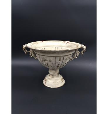 Cream colour urn