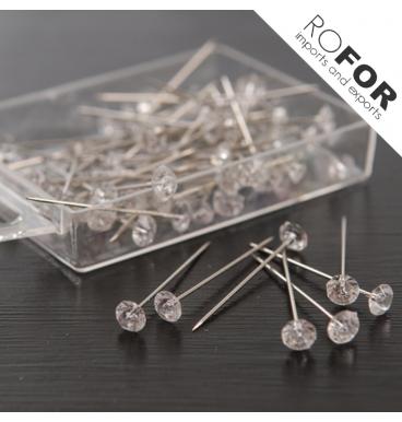 Diamond pins in a box