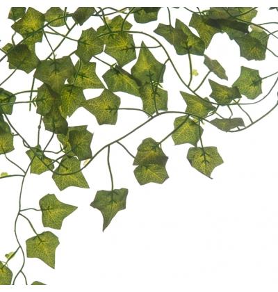 Green silk ivy string