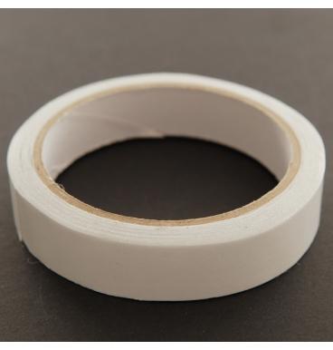Plain white decoration tape