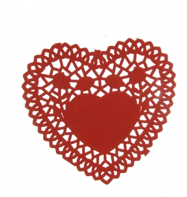 Red dollie heart