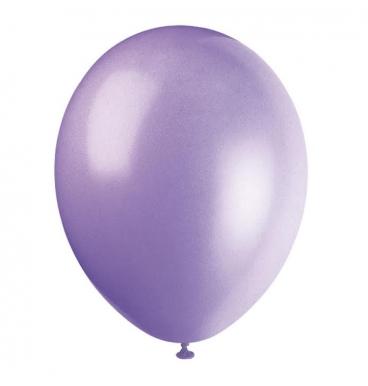 Plain purple balloons purple