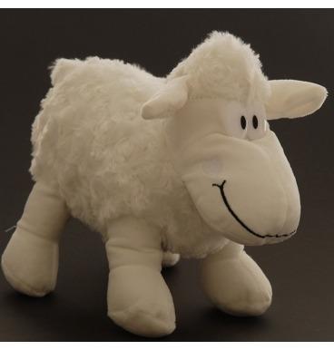 White sheep plushie