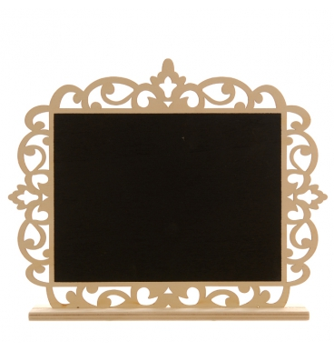 Table stand rectangular black board