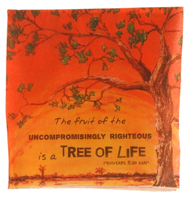 Tree of life scripture serviettes