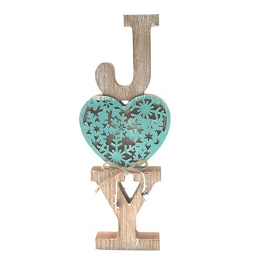 Joy light blue heart