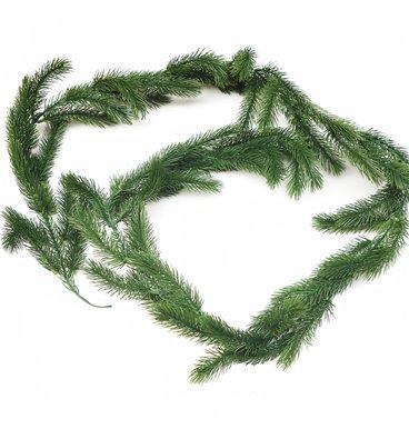 Green leaf garland chirstmas