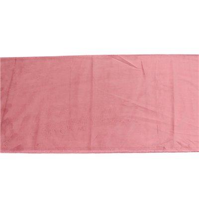 Pink velvet runner